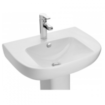 Lavabo autoportant Odeon Up 60cm Percé 1 trou Blanc - Jacob Delafon Réf. E4736-00