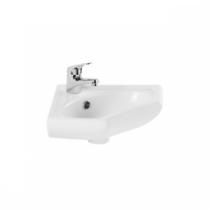 Lavabo d\'angle Sado 35.7x35.7cm Blanc - SANINDUSA Réf. 118700004