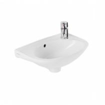 Lavabo Mira 40.5cm Blanc - SANINDUSA Réf. 108310004