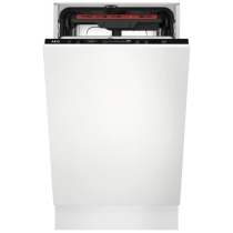 Lave-vaisselle tout intégrable 45 cm 10 couverts 9.9l A++ - AEG Réf. FSE72507P