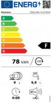 Lave-vaisselle tout intégrable 45cm 9 couverts 9.9l F - ELECTROLUX Réf. EEA22100L