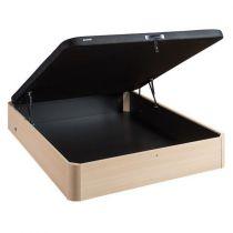 Lit coffre ASTEROID - 140 x 190 cm - Décor Bouleau - BULTEX Réf. DB1170614019000