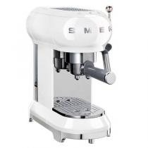 Machine à café Expresso Années 50 Blanc - SMEG Réf. ECF01WHEU