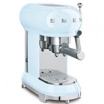 Machine à café Expresso Années 50 Bleu Azur - SMEG Réf. ECF01PBEU