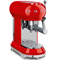 Machine à café Expresso Années 50 Rouge - SMEG Réf. ECF01RDEU