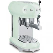 Machine à café Expresso Années 50 Vert d\'eau - SMEG Réf. ECF01PGEU