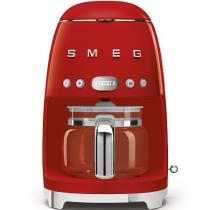 Machine à café Filtre Années 50 Rouge - SMEG Réf. DCF01RDEU