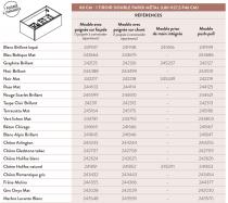 Meuble sous-plan ARCHITECT 80cm 1 tiroir Chêne Arlington / poignée au choix - AQUARINE Réf. 244233