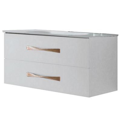 Meuble sous vasque suspendu belem 100cm 2 tiroirs blanc glacier o 39 design r f caisbelem1000b - Meuble sous vasque design ...