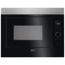 Micro-ondes encastrable 26l Inox - AEG Réf. MBE2658SEM
