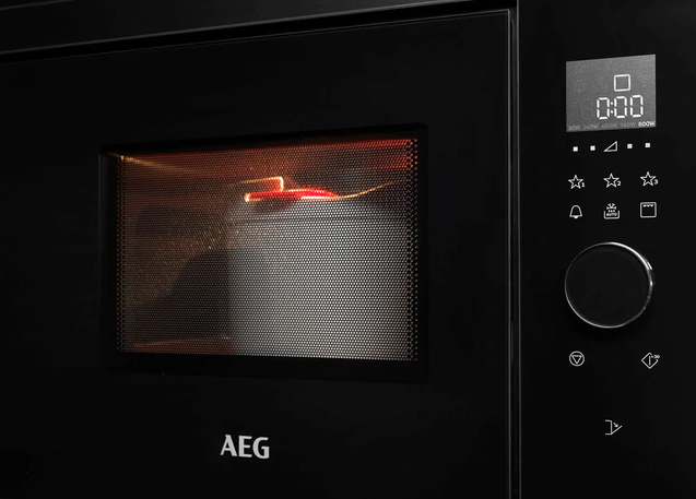 Micro-ondes encastrable 26l Noir - AEG Réf. MBE2658SEB