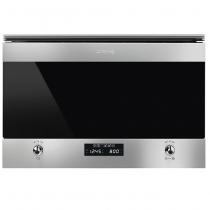 Micro-ondes encastrable Classica 22l 850W Inox - SMEG Réf. MP322X1