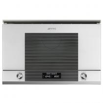Micro-ondes gril encastrable Linéa 22l 850W Blanc - SMEG Réf. MP122B1