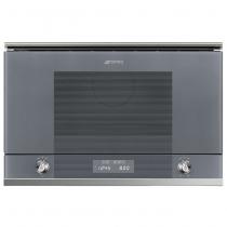 Micro-ondes gril encastrable Linéa 22l 850W Inox - SMEG Réf. MP122S1