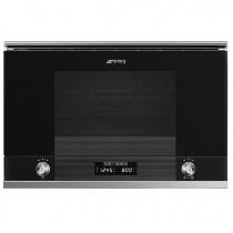 Micro-ondes gril encastrable Linéa 22l 850W Noir - SMEG Réf. MP122N1