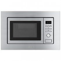 Micro-ondes grill encastrable 17l 800W Inox - SMEG Réf. FMI017X