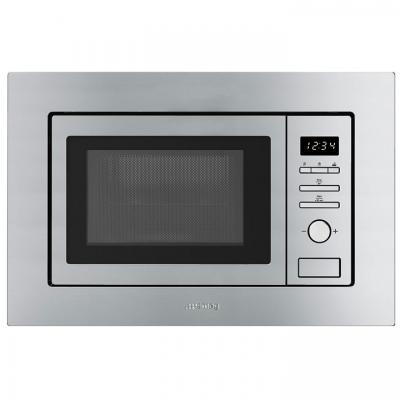 Promo micro ondes grill encastrable 20l 800w inox smeg - Micro onde grill encastrable ...