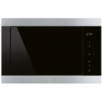 Micro-ondes grill encastrable 25l 900W Inox - SMEG Réf. FMI325X