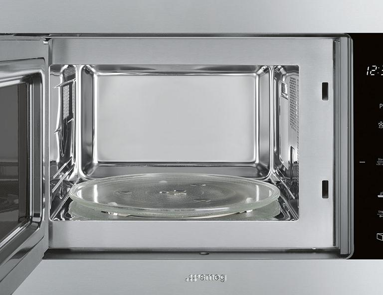 Micro ondes grill encastrable 25l 900w inox smeg r f - Micro onde grill encastrable ...