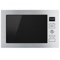 Micro-ondes Grill encastrable Elementi 25l 900W Inox - SMEG Réf. FMI425X