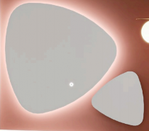 Miroir DRAKE 37 cm - Aquarine Réf. 826205