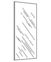 MIROIR LAVE-MAINS SANS TABLETTE - DECOTEC Réf. 114525100003