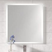 Miroir LED FROST 100cm avec antibuée Aluminium -  AQUARINE Réf. 824935