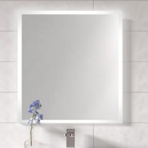 Miroir LED FROST 120cm avec antibuée Aluminium - AQUARINE Réf. 824936