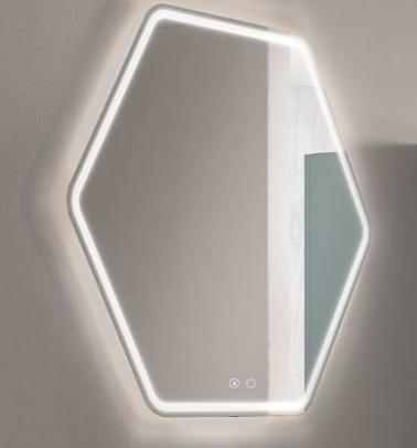 Miroir LED JAZZY 79 cm - AQUARINE Réf. 824955