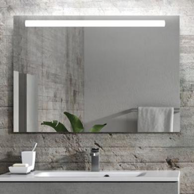 Miroir LED LINIA 80cm Aluminium -  AQUARINE Réf. 824930