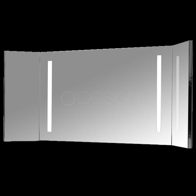 Miroir triptyque Tria 90cm - O\'DESIGN Réf. TRI900L