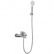 Mitigeur bain douche CANGGU Inox brossé - Aquarine Réf. 825488
