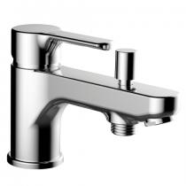 Mitigeur bain-douche monotrou EcoPrime Chromé - GRB Réf. 15529400