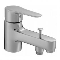 Mitigeur bain-douche monotrou July Chrome - JACOB DELAFON Réf. E16044-4-CP