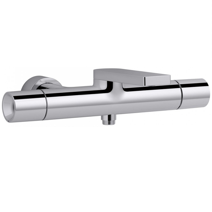 Mitigeur bain douche thermostatique composed titanium jacob delafon r f e7 - Demonter mitigeur douche ...