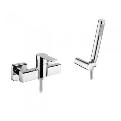 Mitigeur douche Master 40 avec douchette, support et flexible Chromé - SANINDUSA Réf. 525070111