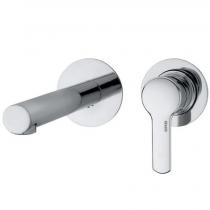 Mitigeur lavabo à encastrer 2 plaques sans vidage Chromé - GRB Réf. 923900