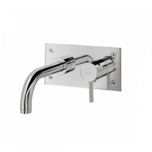 Mitigeur lavabo à encastrer Tube Chromé - SANINDUSA Réf. 531230111