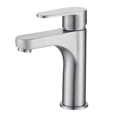 Mitigeur lavabo CANGGU Inox brossé - Aquarine Réf. 825490