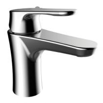 Mitigeur lavabo E-Plus Magnum avec vidage Chromé - GRB Réf. 35513350