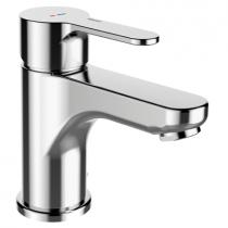 Mitigeur lavabo EcoPrime avec vidage PVC Chromé - GRB Réf. 15512150