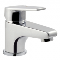 Mitigeur lavabo EcoProject vidage PVC Chromé - GRB Réf. 10512110