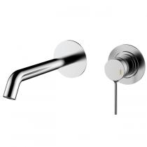 Mitigeur lavabo encastrable Time bec 150mm Chromé - GRB Réf. 47535470