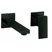 Mitigeur lavabo encastré 2 trous Daly Noir mat - O\'DESIGN Réf. D101NM