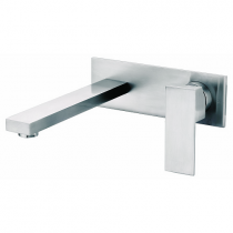Mitigeur lavabo encastré Daly Nickel brossé - O\'DESIGN Réf. D102NB