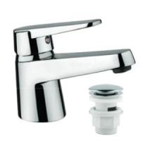 Mitigeur lavabo Ventus Prime vidage clic clac Chromé - PAINI Réf. 93CR211NFCC