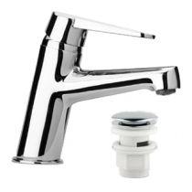 Mitigeur lavabo Ventus vidage clic clac Chromé - PAINI Réf. 93CR205CC