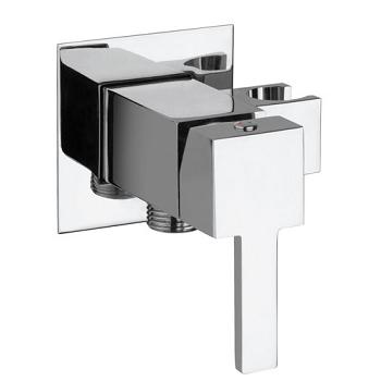 Mitigeur mécanique Dax Square à encastrer Chromé - PAINI Réf. 84CR62Q