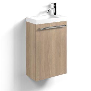 pack decotec sucre 40cm placage bois lave mains c ramyl. Black Bedroom Furniture Sets. Home Design Ideas