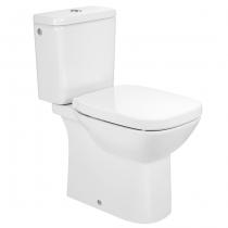 Pack WC à poser Debba Square Rimless sans bride Blanc - ROCA Réf. A34D99L000